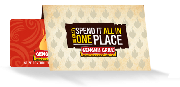 Genghis Grill Gift Card